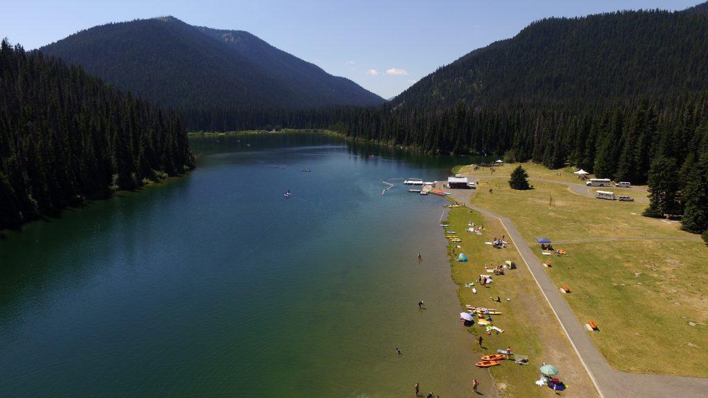 Image of Lightning Lake observing site.