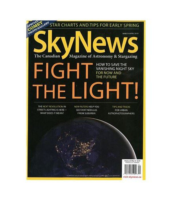 Cover of SkyNews Magazine