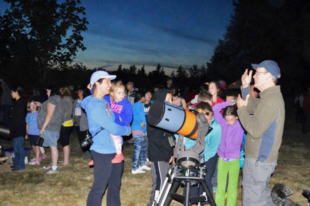 Aldergrove Meteor Watch Event Photo