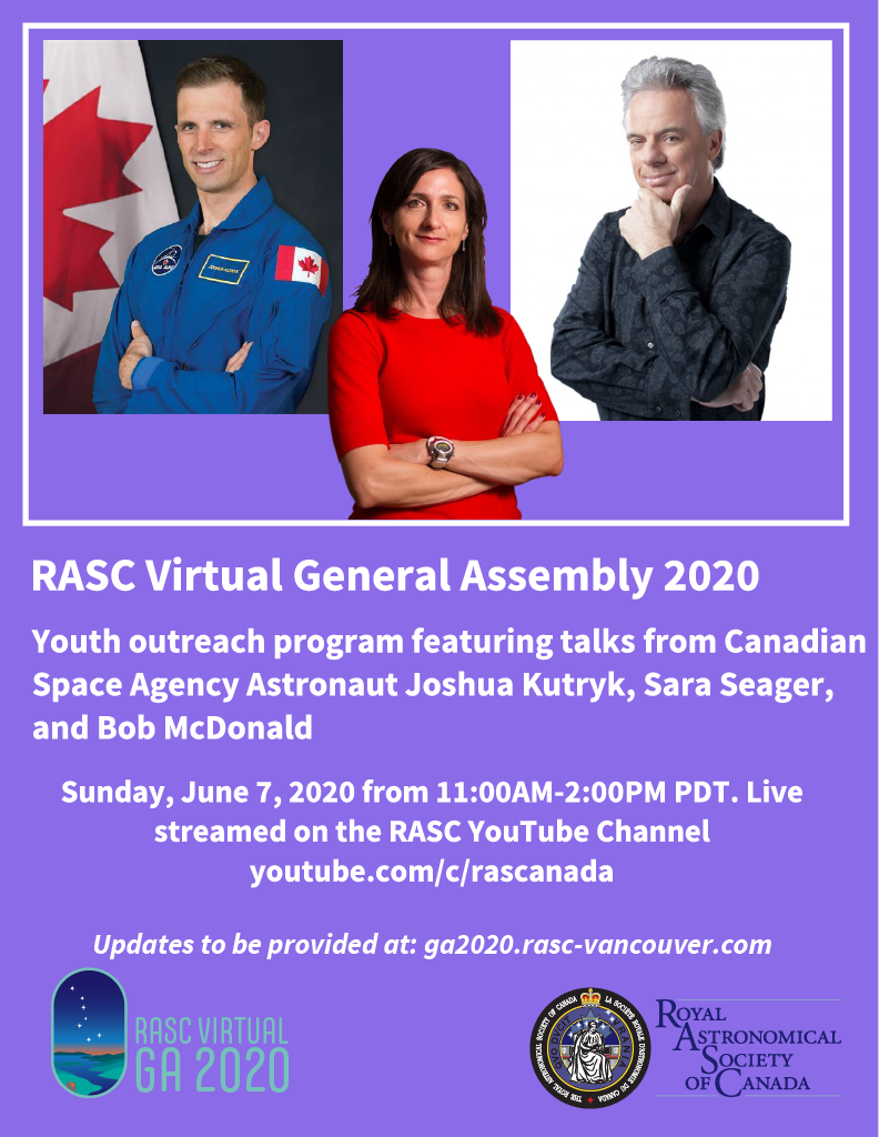 RASC Virtual General Assembly 2020 poster.