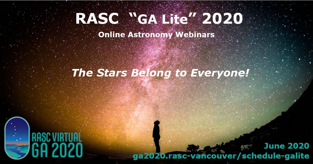 GA Lite Astronomy Webinars
